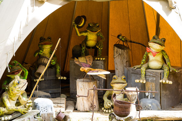Frosch-Orchester