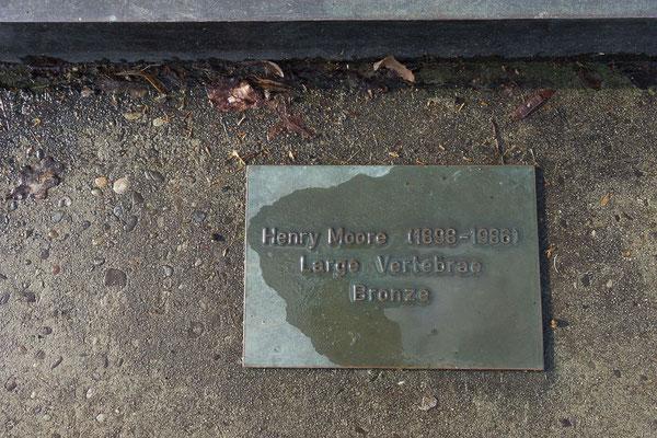 Large Vertebrae von Henry Moore