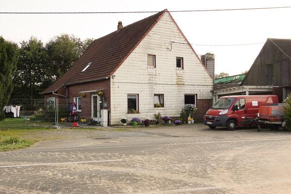 Alleinstehenden Wohnhaus zwischen Münster und den Baumbergen.