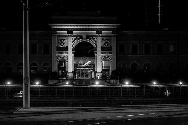 Alter Braunschweiger Bahnhof, heute Direktionsgebäude der Braunschweigischen Landessparkasse