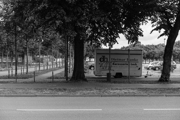 Woche 16: Gerichtsstraße, Westseite des Schlossplatzes