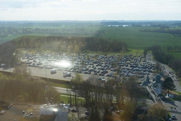Parkplatz des Hansa-Parks