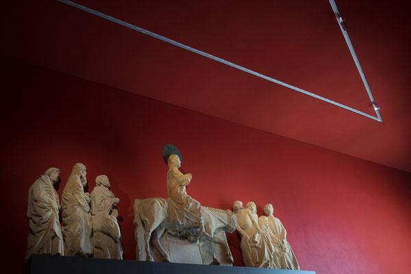 Jesus auf einem Esel im LWL Landesmuseum für Kunst und Kultur
