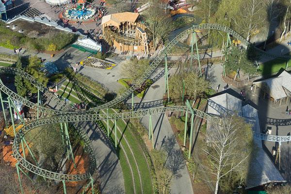 Luftaufnahme vom Holstein-Turm