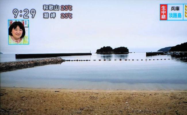 NHK あさイチ 生中継のテレビ画面