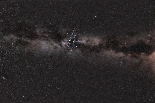 銀河と白鳥座