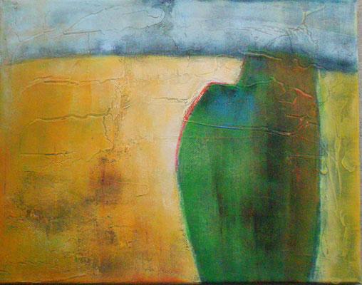 ohne Titel, Acryl, gerollt 2012