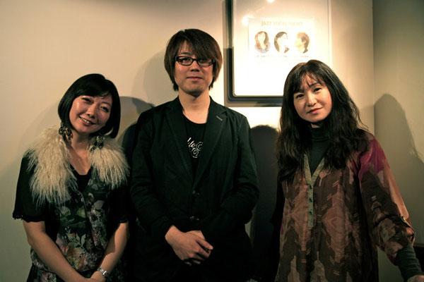 2010.11.26 lydia chiffon(Vo.柴田麻実さんとPf.渥美知世さん)のライブにゲスト出演させて頂きました。