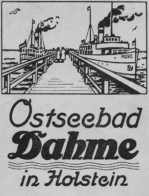 1912 Broschüre, Titelblatt