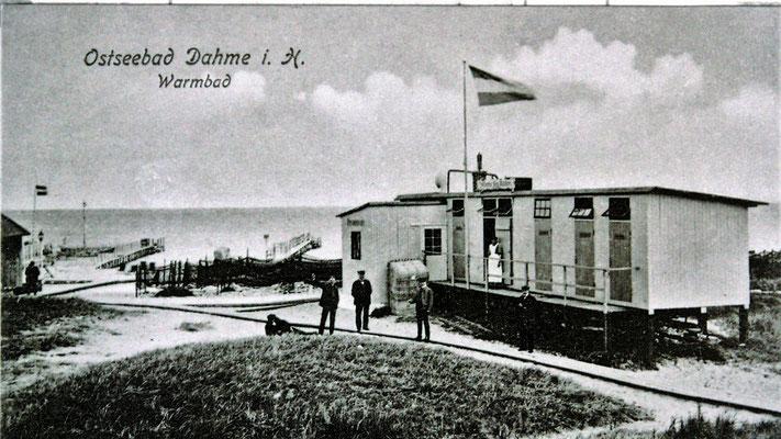 Das Warmbadehaus von 1898