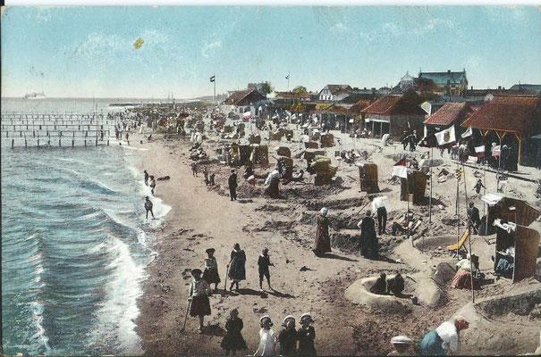 Strandleben vor dem 1. Weltkrieg