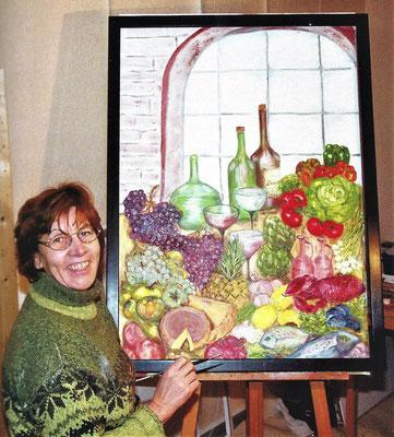 Christa Sundermann hat von 1995 bis 2020 in Dahme als Künstlerin gewirkt.