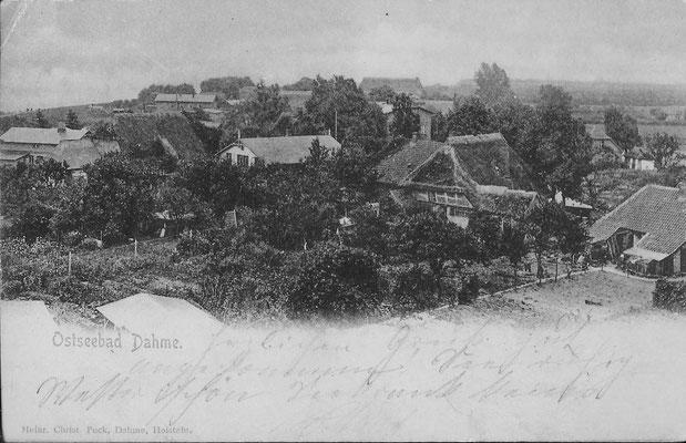 Dorf Sahme 1898
