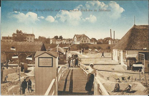 Seebrücke 1912