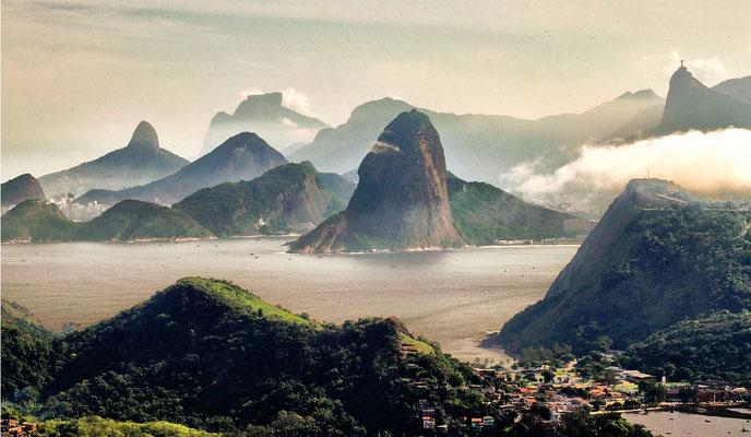 Reise nach Brasilien 1906, Rio de Janeiro
