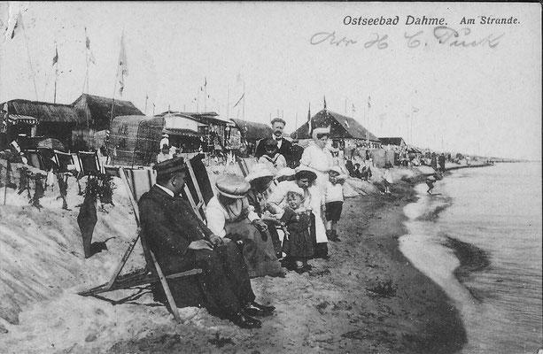 Strandleben 1906