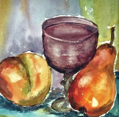 4 - Kelch mit Früchten