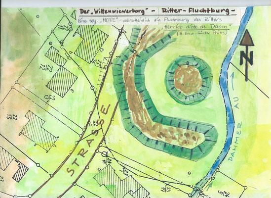 Wittenwievewerbarg Zeichnung Reinhold Reshöft
