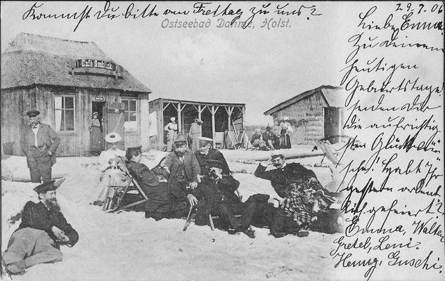 Strandleben um 1900