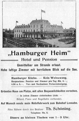 Brochüre 1914