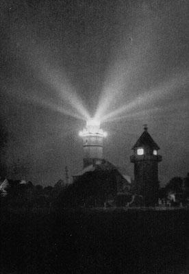 Lichtkegel des Leuchtturm Dahmeshöved