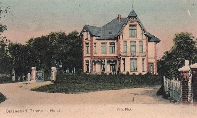 Villa Fick (später Mumm)