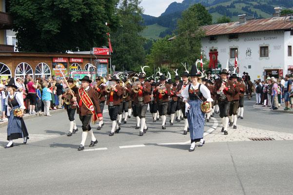 Musikkapelle Kirchberg in Tirol 2014