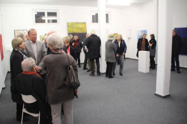 Ausstellungseröffnung Gisela Achour