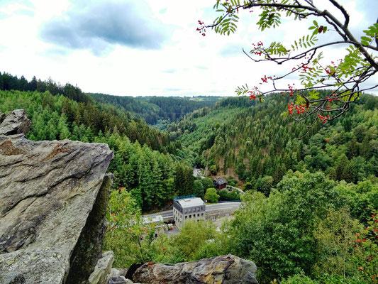 Monschau Aussicht von Teufelsley