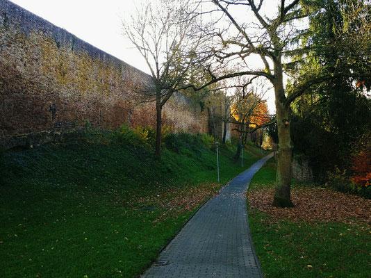 Bad Münstereifel - Wallgrabenpromenade