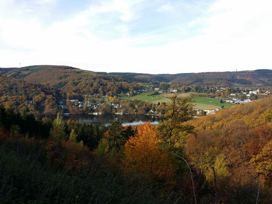 Aussicht auf Obermaubach