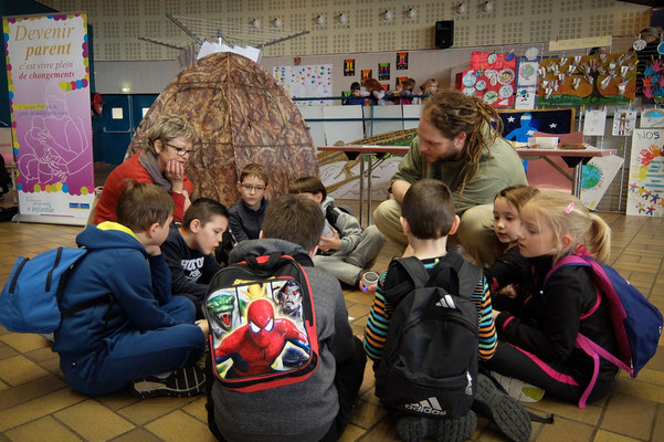 L'Atelier Vert, animation pour la journée internationale des droits de l'enfant, à Dombasle-sur-Meurthe