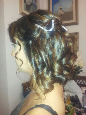 acconciatura sposa roma