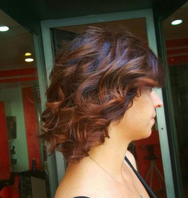 Sfumatura capelli castani