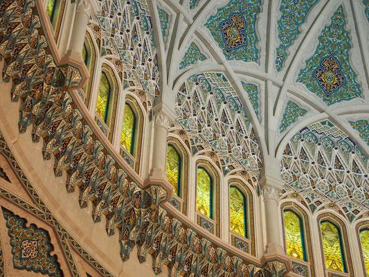 Mosque Qaboos in Muscat, Oman