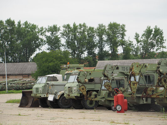 Katonai jármű temető