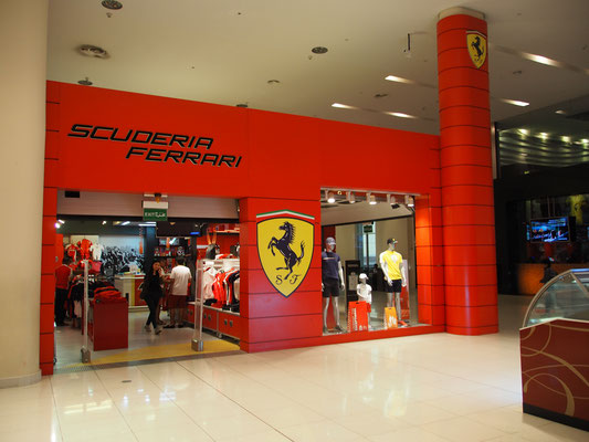 Dubai Mall Ferrari store