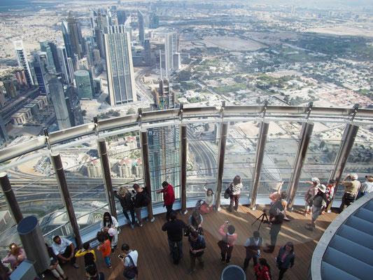 Panorama Sky terrace Burj Khalifa