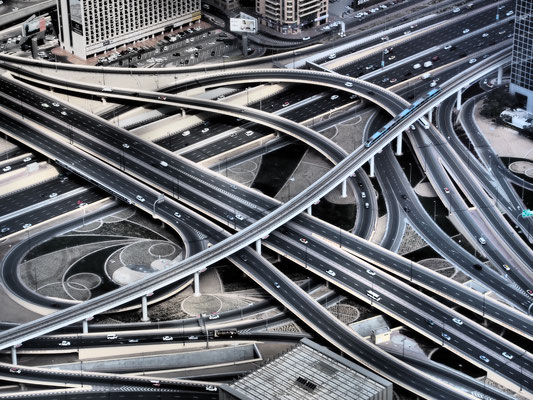 Dubai Highways crossing