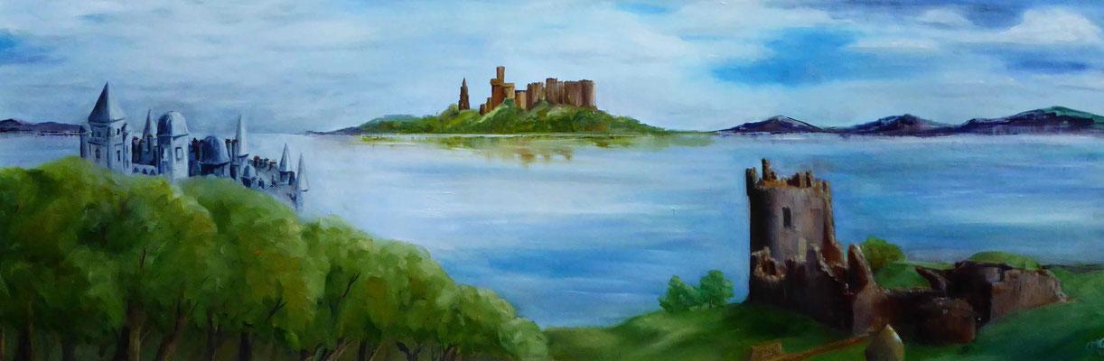 Highland Castles Montage,
