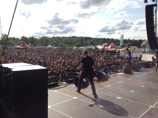 Unantastbar Live auf der Gond 2012