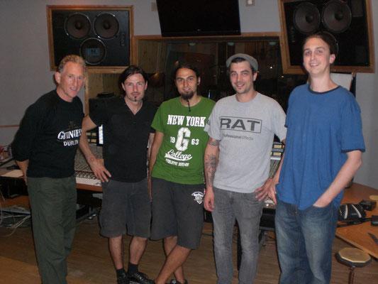 Richard, Alex, Ich, Tony (der Assistent), Vincent Sorg