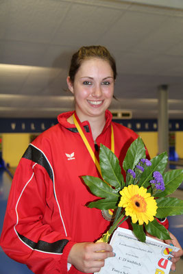 die U 23 Landesmeisterin Tonya Schöpflin vom KSV Freiburg