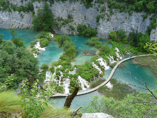 Winnetou lässt Grüßen, die Plitvicer Seen