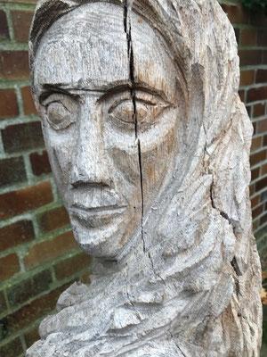 Eva, Holz, 140x80 cm