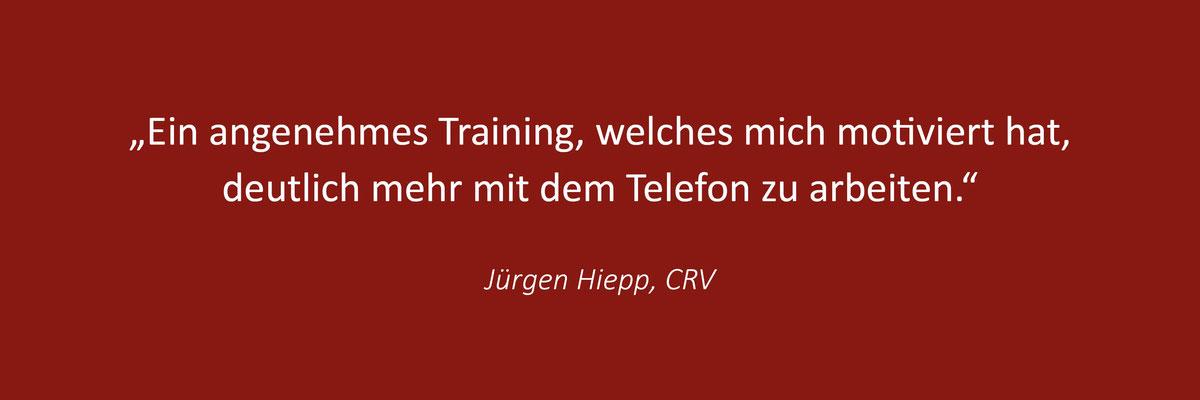 Das sagen Teilnehmer zum Telefontraining von Thomas Pelzl