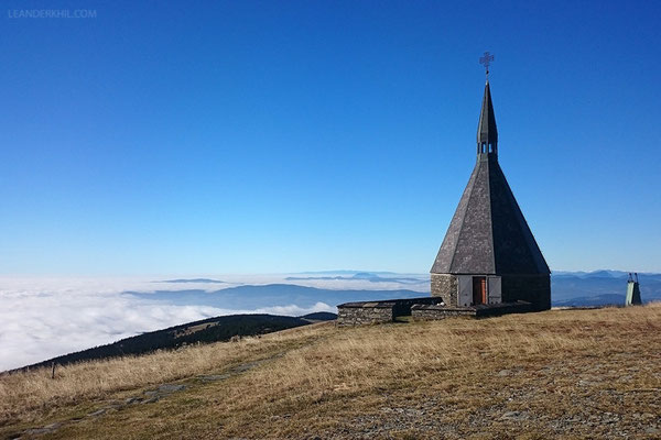 The chapel on the peak of Hochwechsel (1743m a.s.l.)