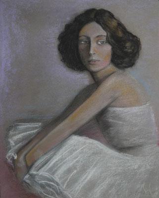 ANNA, Pastell auf Papier, 30 x 40 cm, 68 Euro