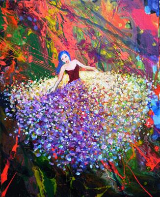 BALLERINA, Acryl, 30 x 30 cm, 68 Euro