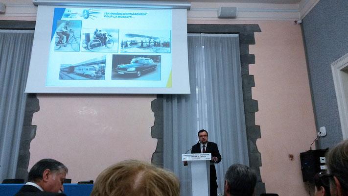 Pierre Robert, Directeur du Centre de Technologie Michelin Europe